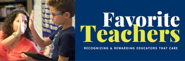 FAVORITE TEACHERS