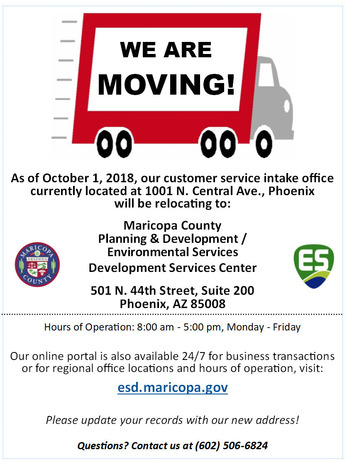 We Are Moving - ESD (Oct. 1, 2018)