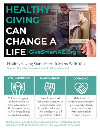 Healthy Giving Educational Flyer