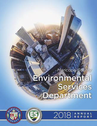 FY 2018 ESD Annual Report Cover