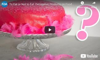 FDA - Decorative Products