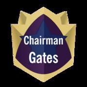 Chairman Gates' Summer Reading Challenge Badge