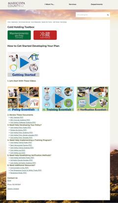 AMC Toolbox - Web