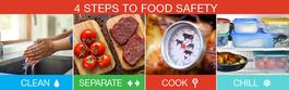 Food Safety - 4 steps