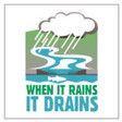 Stormwater - When it Rains it Drains