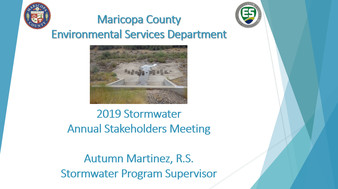 Stormwater Stakeholder Report 2019