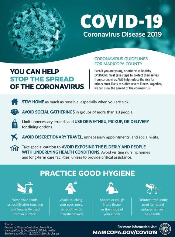 COVID19 info graphic