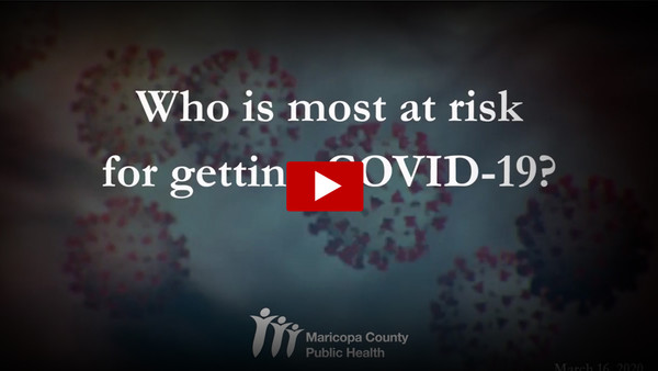Who is Most at Risk of Getting COVID-19?