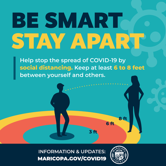 Be Smart. Stay Apart.
