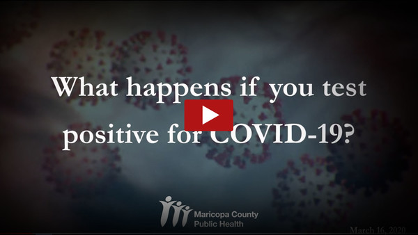 Testing Positive for COVID-19 Video