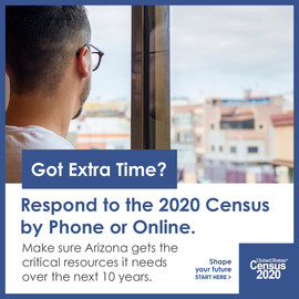 Census: Extra Time and Easy to Respond - Eng