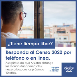 Census: Extra Time and Easy to Respond - Spanish
