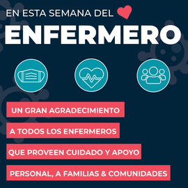 Nurse Appreciation Week -Spanish