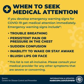 When to seek medical attention -ENG