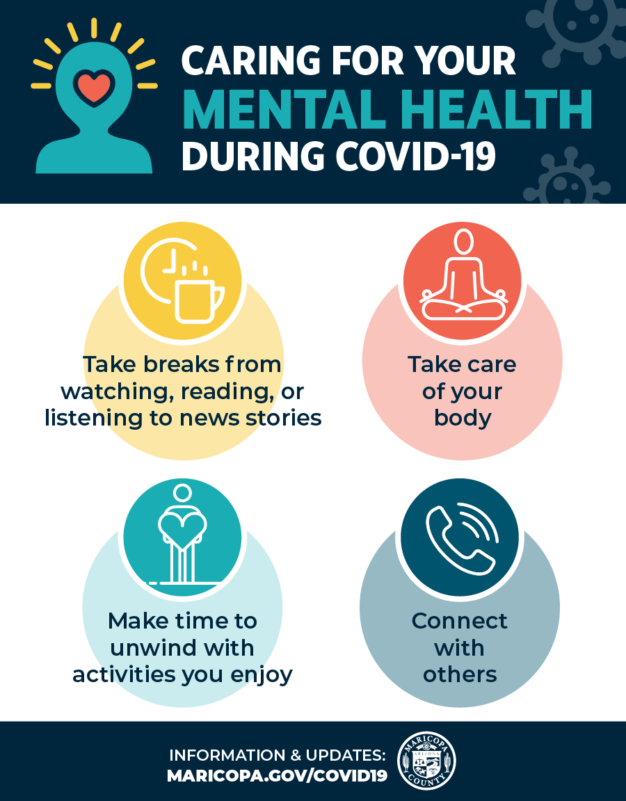Caring for your mental health during COVID-19 -ENG