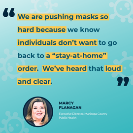 Marcy's Quote on Push for Mask Use