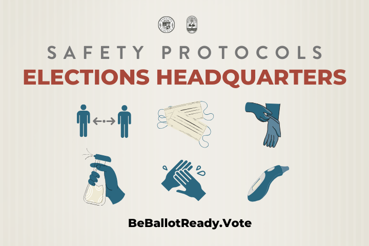 Elections Headquarters Safety Protocols -ENG