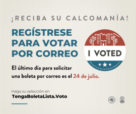 Register to Vote by Mail -SPA