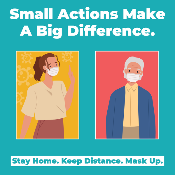 Small Actions. Big Difference.