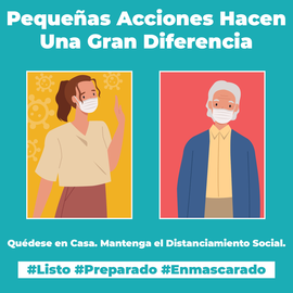 Small Actions Big Difference Spanish Version