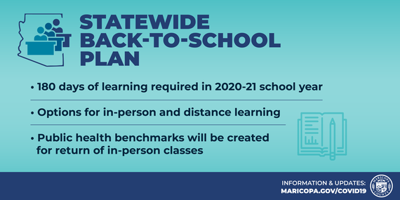 Statewide Back-to-School Plan