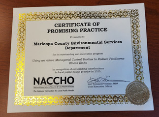 Naccho - Promising Model Certificate