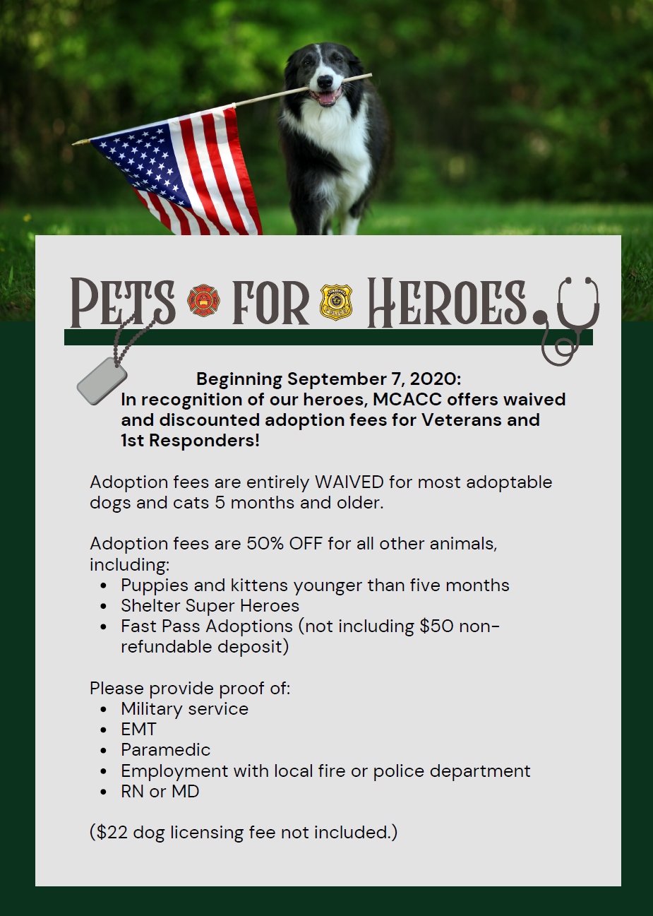 pets for heroes