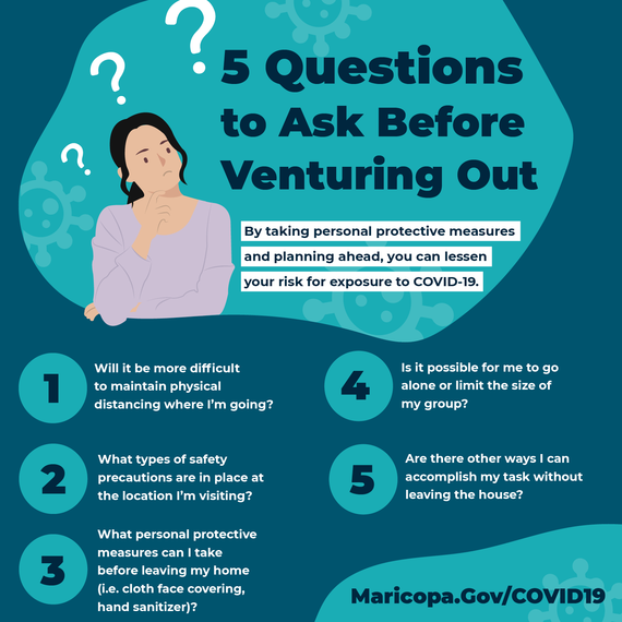 5 things to consider before venturing out