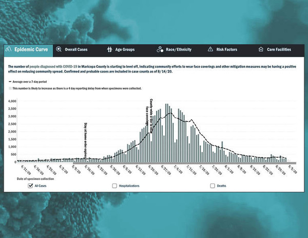 Epidemic Curve Dashboard