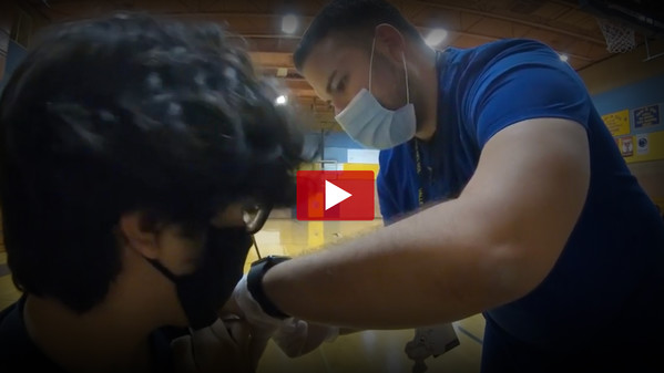 Flu Shot Event Video