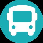 Public transportation, bus
