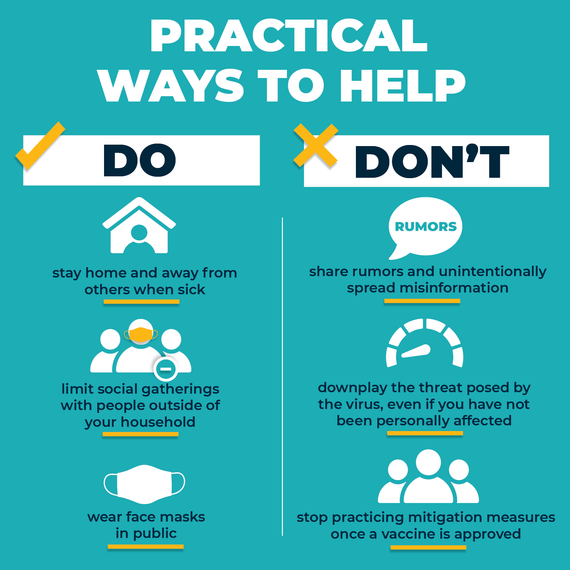Ways You Can Help Dos and Donts