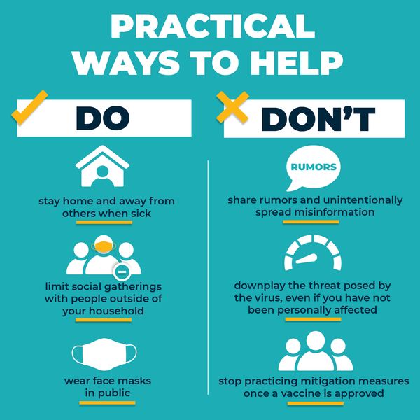 Ways to Help Do's and Don'ts
