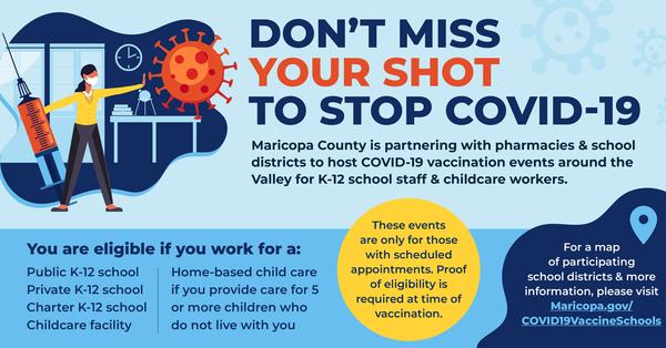 School Vaccination Events