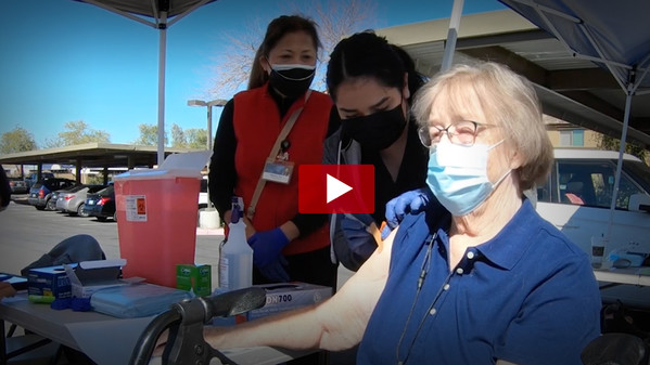 COVID-19 Vaccine Pop-up Event Video