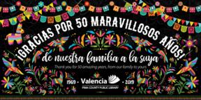 Valencia Library logo