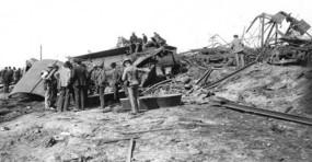 Esmond train wreck