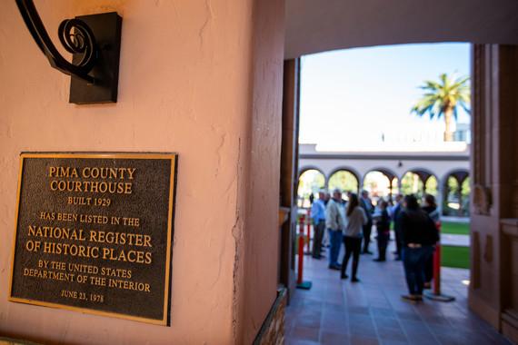 Historic Courthouse tour