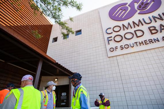 Volunteers at Food Bank