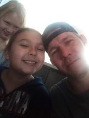 Phillip Bernard and kids