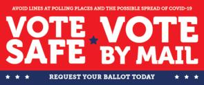 Vote Safe banner