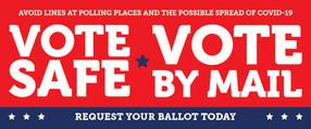 Vote Safe webpage