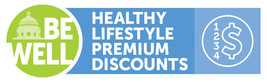 Healthy Lifestyle discount logo