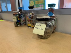 Jars of change
