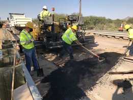 DOT workers