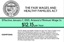 Minimum wage poster