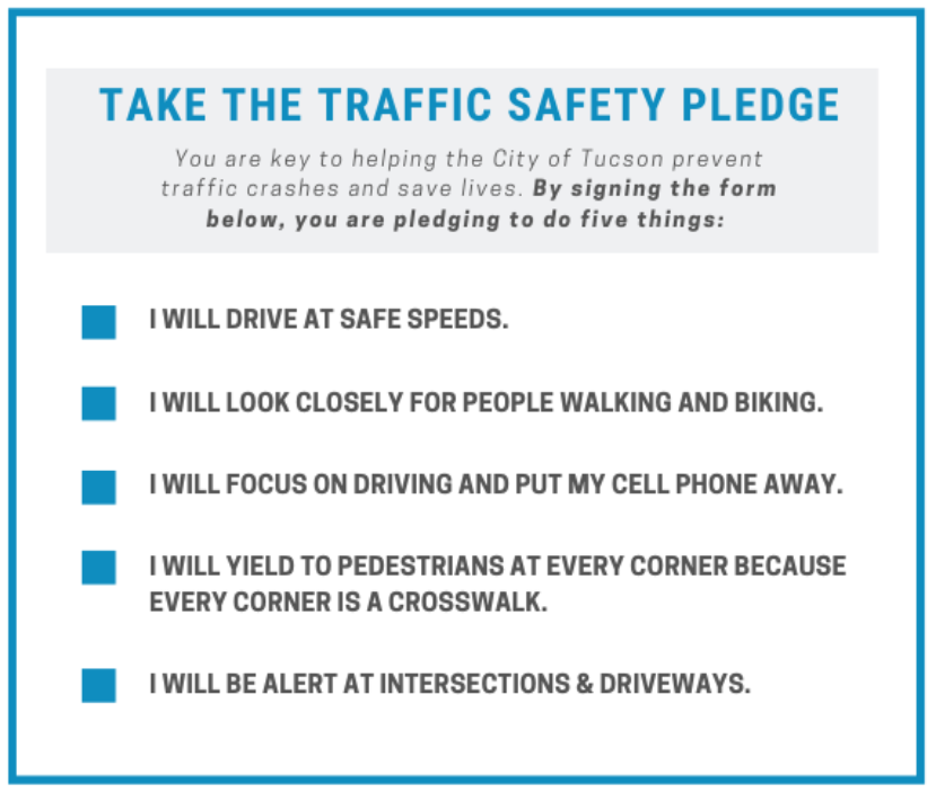 traffic safety pledge