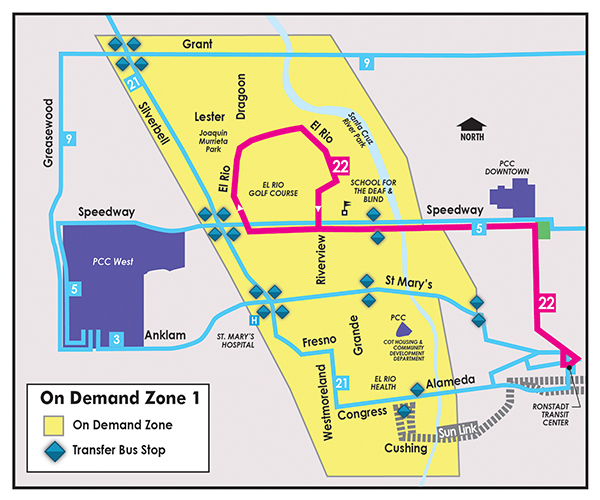 Sun On Demand, Zone 1