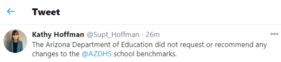 Tweet Kathy Hoffman