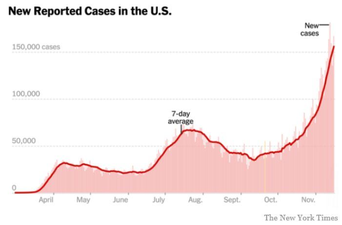 New Reported Cases NYT
